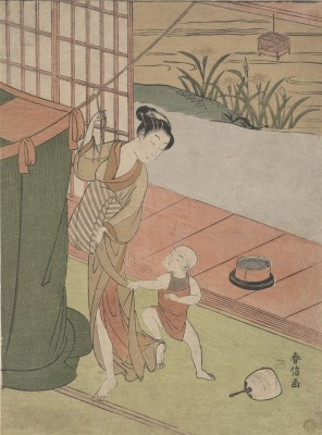Mother and Son - Suzuki Harunobu