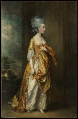 Mrs. Grace Dalrymple Elliott Gainsborough - Thomas Gainsborough