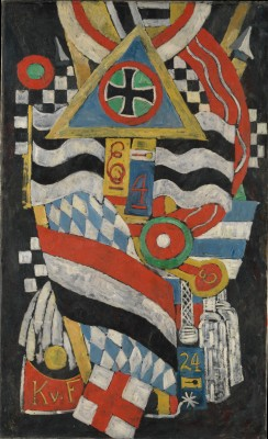Portrait of a German Officer - Marsden Hartley
