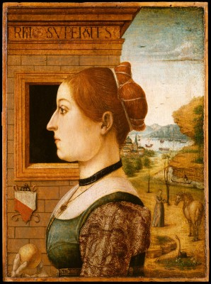 Portrait of a Woman, possibly Ginevra d.Antonio Lupari Gozzadini