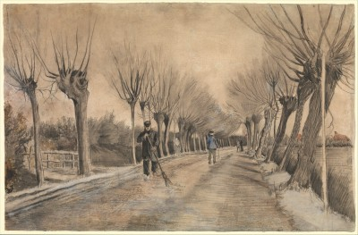 Road in Etten - Vincent van Gogh