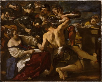 Samson Captured by the Philistines - Guercino