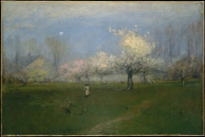 Spring Blossoms, Montclair, New Jersey - George Inness