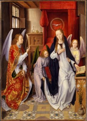 The Annunciation - Hans Memling