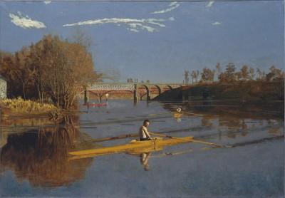 The Champion Single Sculls - Thomas Eakins