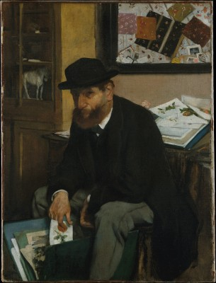 The Collector of Prints - Edgar Degas