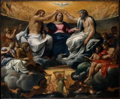 The Coronation of the Virgin - Annibale Carracci