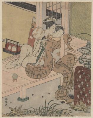 The Gossips - Suzuki Harunobu