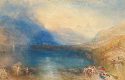The Lake of Zug - Joseph Mallord William Turner