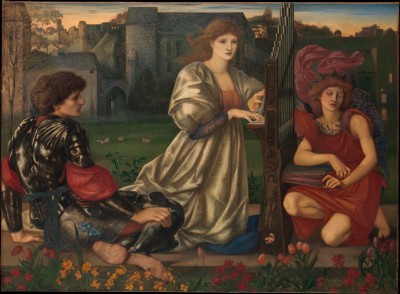 The Love Song - Sir Edward Burne-Jones