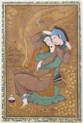 The Lovers - Riza-yi Abbasi