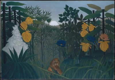 The Repast of the Lion - Henri Rousseau