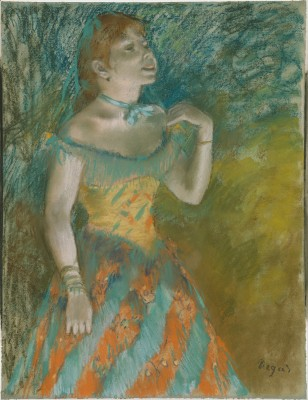 The Singer in Green - Edgar Degas