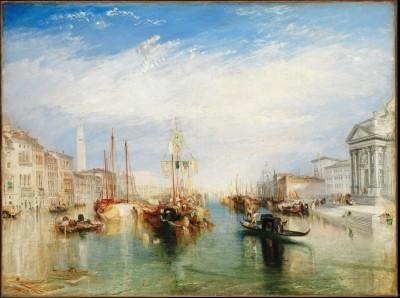 Venice, from the Porch of Madonna della Salute - Joseph Mallord William Turner