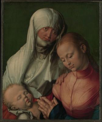 Virgin and Child with Saint Anne - Albrecht Dürer