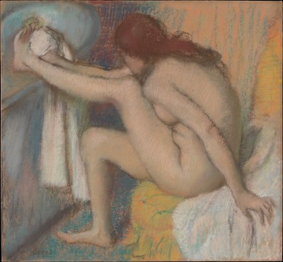 Woman Drying Her Foot - Edgar Degas