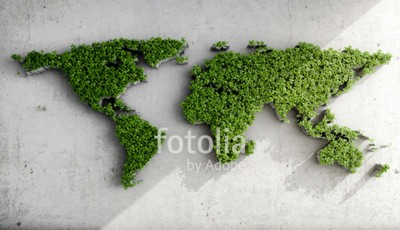 Fototapeta Zielona Mapa 3D #215957827