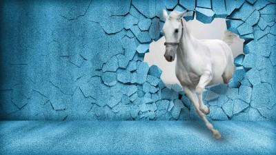 Koń 3D III