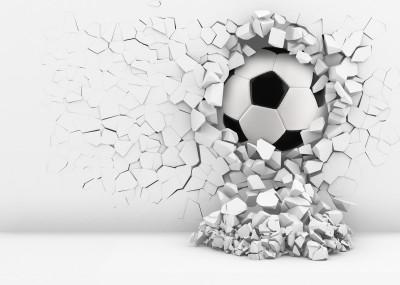 Piłka w ścianie