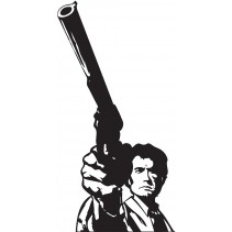 Naklejka NK007S - 50x98cm - Dirty Harry
