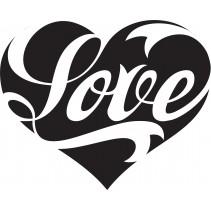 Naklejka NM008L - 124x100cm - Love