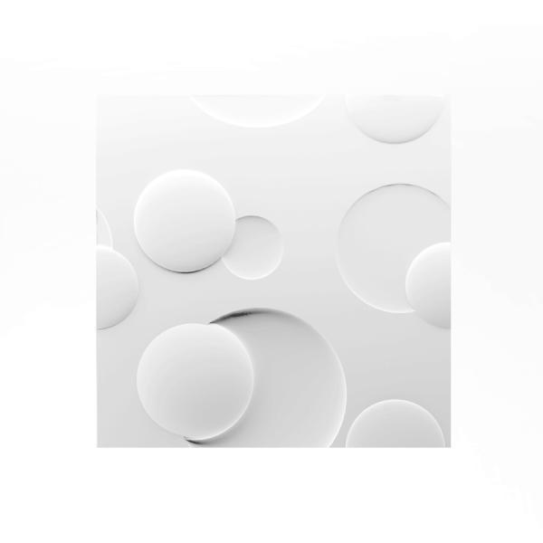 ArtPanel KOŁA - Panel gipsowy 3D