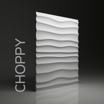 Dunes 01 CHOPPY - Panel gipsowy 3D