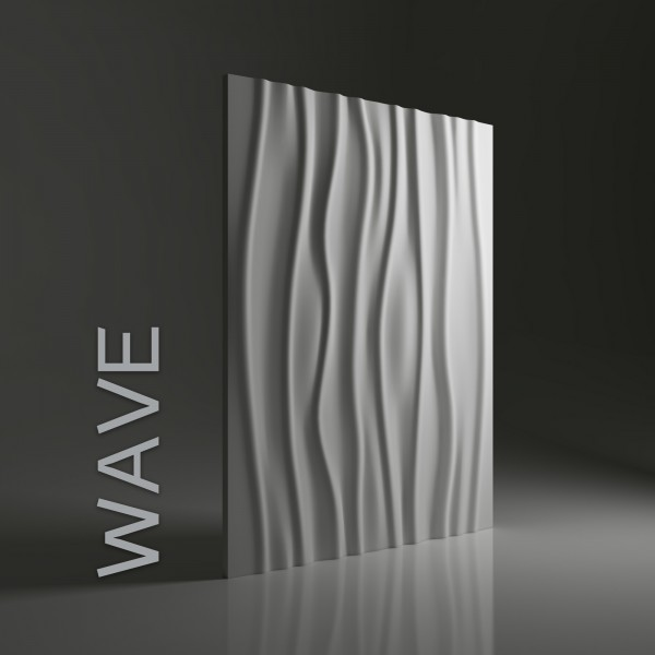 Dunes 06 WAVE - Panel gipsowy 3D