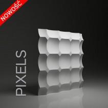 Panel gipsowy 3D PIXELS efekt pulsujących punktów - model Dunes 17