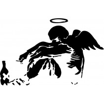 Naklejka NG012L - 65x100cm - Angel