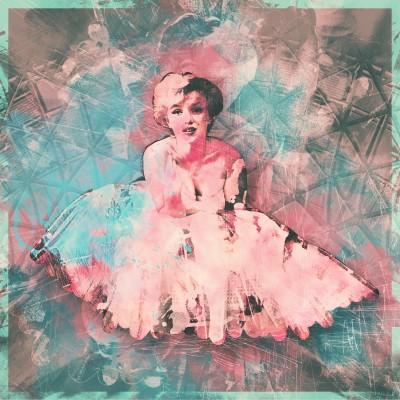 Marilyn Monroe Pink Vintage