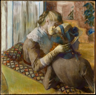 At the Milliners - Edgar Degas