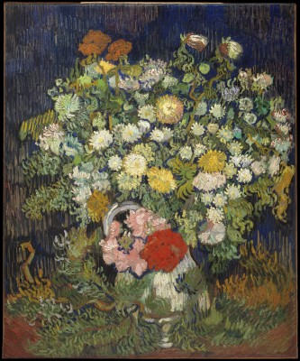 Bouquet of Flowers in a Vase - Vincent van Gogh