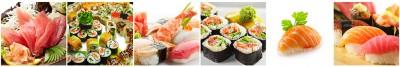 Sushi kolaż