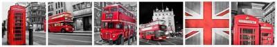 Londyn kolaż