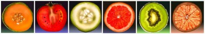 Owoce kolaż