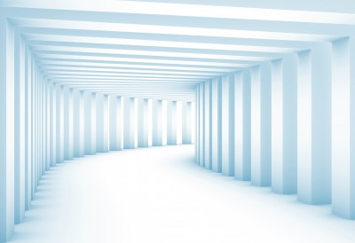 Tunnel with columns XXL