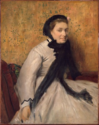 Portrait of a Woman in Gray - Edgar Degas
