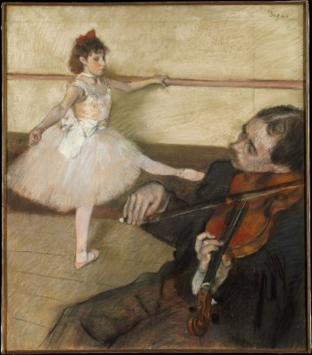 The Dance Lesson - Edgar Degas