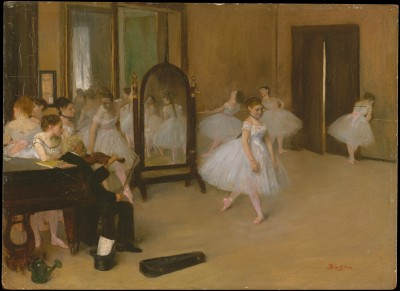 The Dancing Class - Edgar Degas