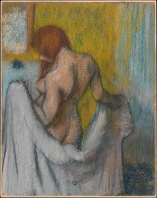 Woman with a Towel - Edgar Degas