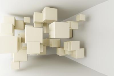 Fototapeta abstrakcyjne kubiki #36121299