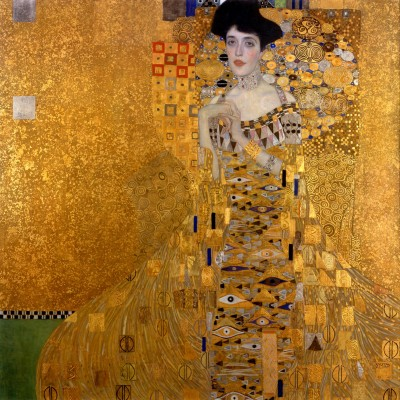 Portrait Of Adele Bloch Bauer - Klimt