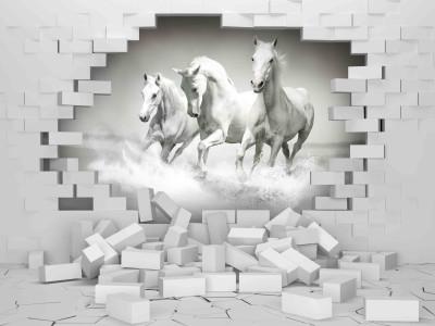 Konie w ścianie II