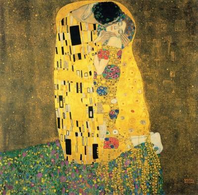 Pocałunek - Klimt