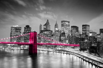 Fototapeta Różowy Most Brókliński